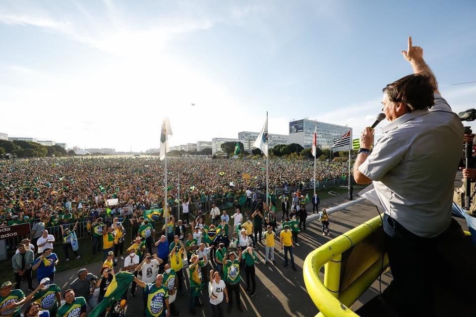 President Bolsonaro Demonstration Manifest in Brazil