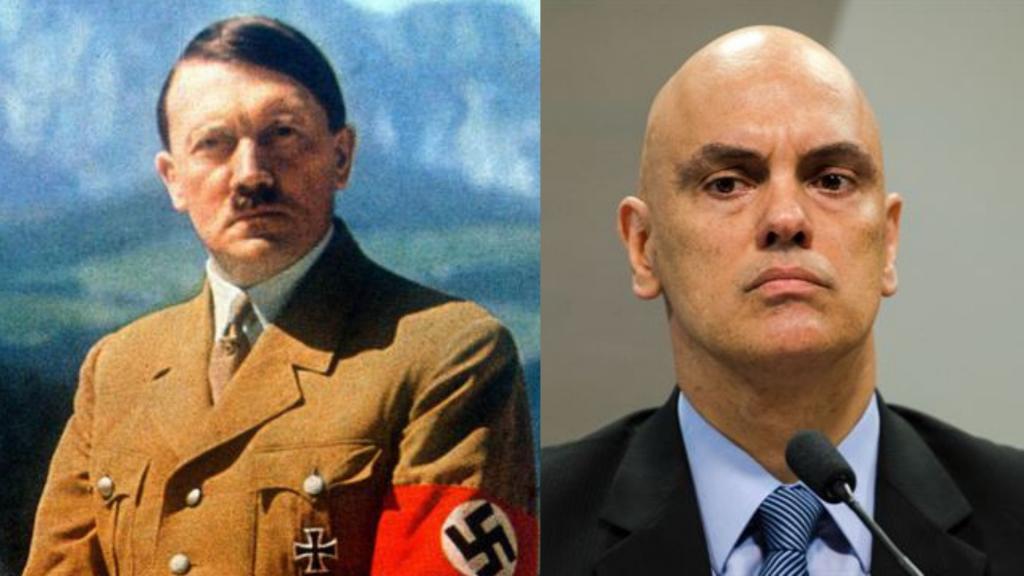Alexandre de Moraes X Hitler