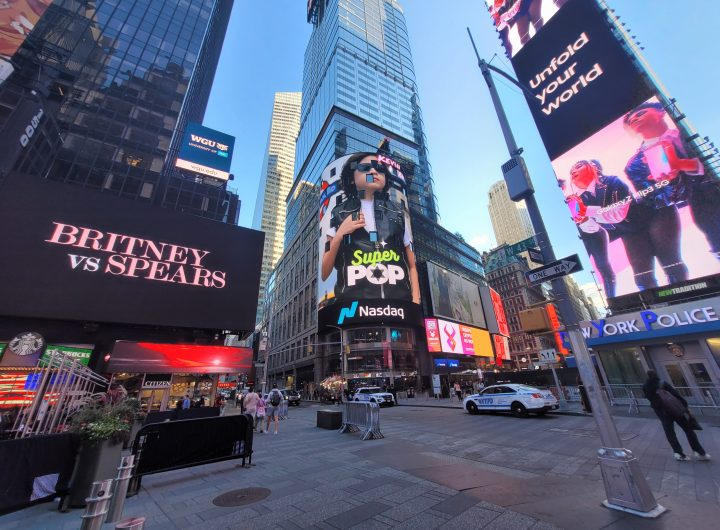 Kevin Keew Your Power #SaveBoysLives Times Square New York USA